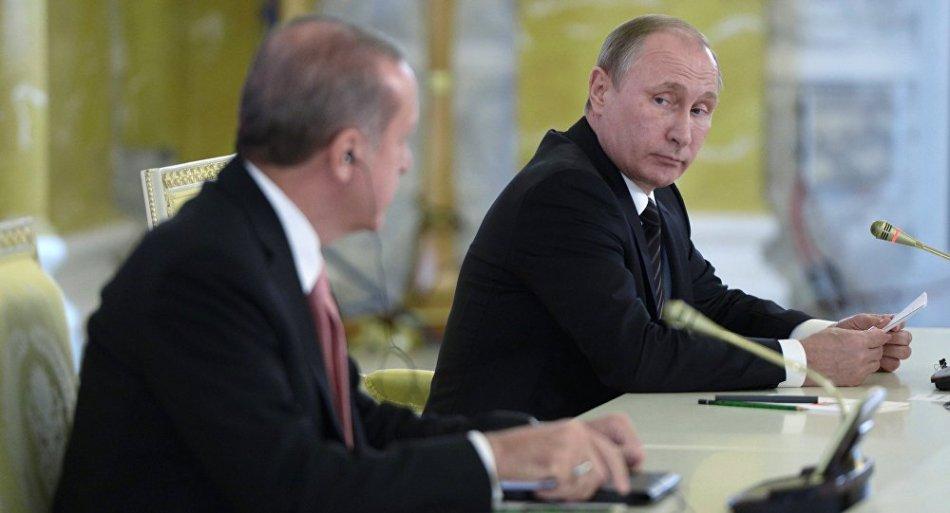 incontro Erdogan Putin