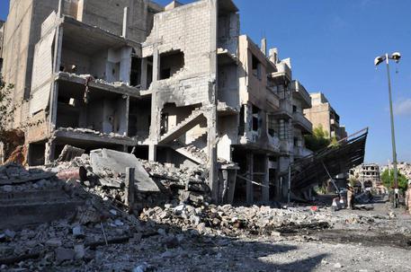 Bomb blast in Homs