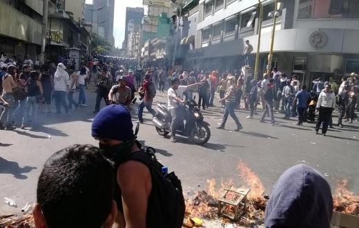 Disturbios-en-Caracas