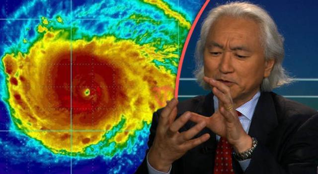 Risultati immagini per Michio Kaku: Haarp è responsabile per l'incremento degli uragani