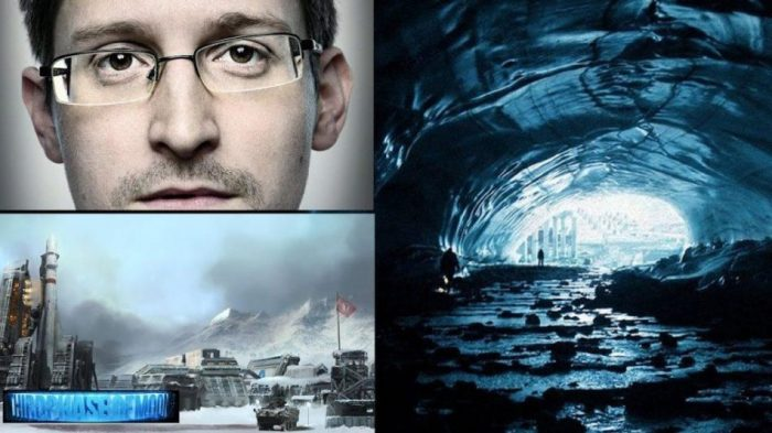 I segreti celati in Antartide svelati in un video di Edward Snowden